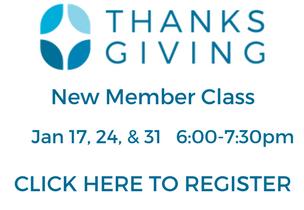 New Member Class Jan 2018